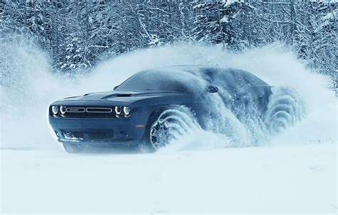 Pony for the Snow: 2017 Dodge Challenger GT | The Daily
