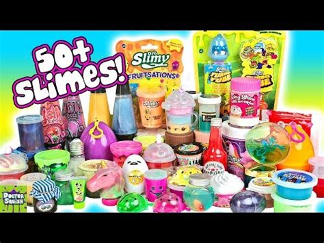 Amazon Slime Review Black Butter Slime Cotton Candy Slime
