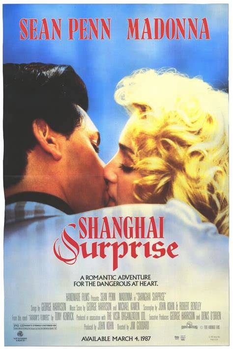 Shanghai Surprise - Romantic comedy film with Madonna