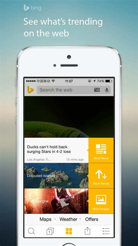 Bing Search App Update Brings Translation Extension for