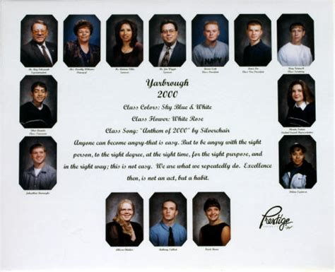 Yarbrough School District - Our Alumni 2000