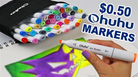 The BEST CHEAP MARKERS to END ALL CHEAP MARKERS? Ohuhu
