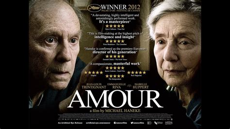 Amour, a film by Michael Haneke, in cinemas nationwide now
