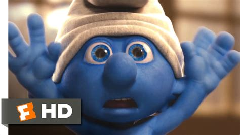 The Smurfs (2011) - Clumsy in the Bathroom Scene (3/10