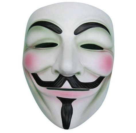 2pcs V FOR Vendetta Anonymous Movie Adult Guy Mask