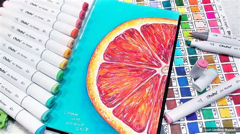80 Colors Alcohol Markers, Ohuhu Double Tipped Markers