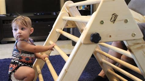 Making a Climbing Structure for Toddlers (Pikler Triangle