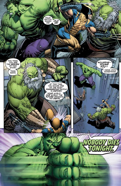 The Hulk And Wolverine VS Their Future Selves – Comicnewbies